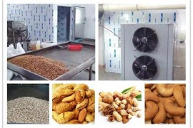 食品烘干设备:空气能热泵坚果烘干机如何烘干腰果