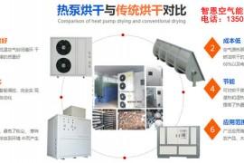 空气能热泵烘干技术与传统烘干技术对比