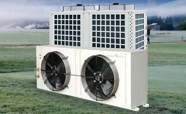 分体式空气能热泵烘干机